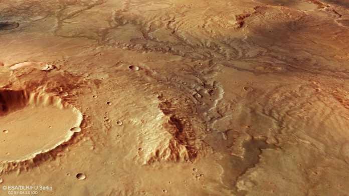 Mars: Viele Täler nicht Überreste von Flüssen, sondern von großen Gletschern