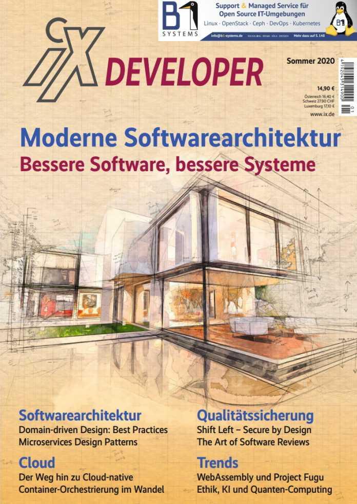 Auf 146 Seiten behandelt das Sonderheft aktuelle und zeitlose Themen der Softwarearchitektur.