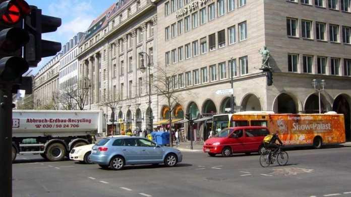 Berliner Friedrichstraße ab 29. August autofrei