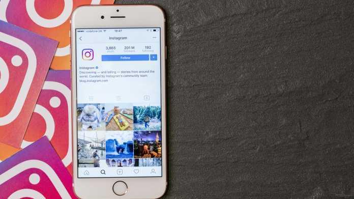 Instagram will Identitäten hinter auffälligen Nutzerkonten prüfen
