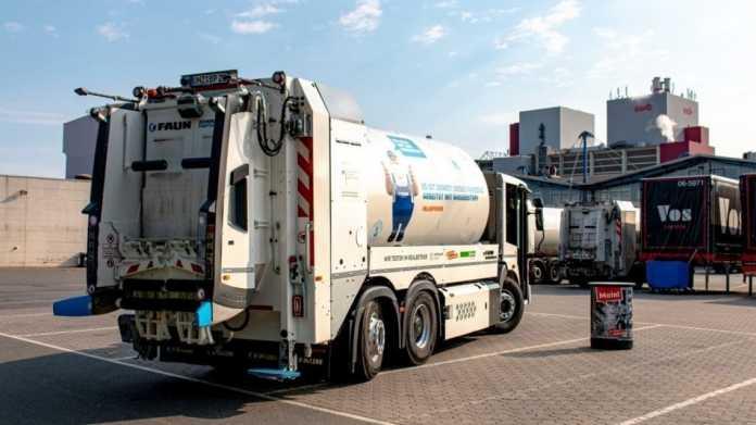 Bremen: Bundesweit erster Müllwagen mit Wasserstoffantrieb im Einsatz