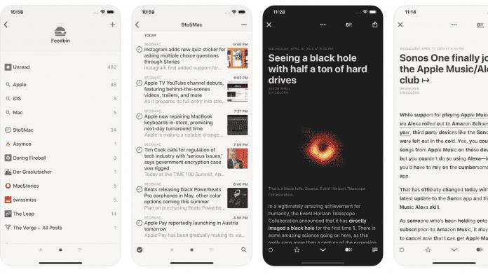 Feedreader Reeder 4 erstmals kostenlos –für iPhone, iPad und Mac