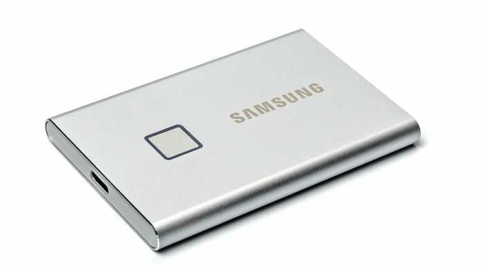 T7 Touch im Test: Externe SSD mit Fingerabdrucksensor
