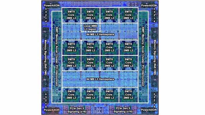 IBM POWER10 für Server mit bis zu 960 Threads und Cluster mit 2 PByte RAM