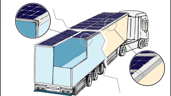 E-Logistik auch mit Solarzellen