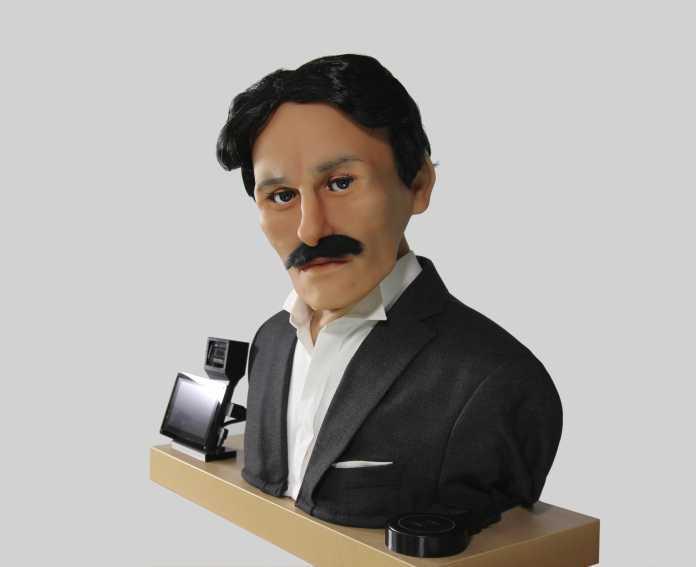 Der animatronische Tesla