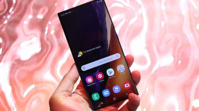 Galaxy Note 20 Ultra im Test: Samsungs Riesenbaby