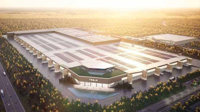 Bundesregierung: Tesla-Fabrik in Grünheide hat Vorbildcharakter