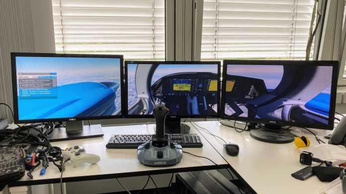 Mehrere Monitore für den Flight Simulator 2020: Was geht und wo es hakt