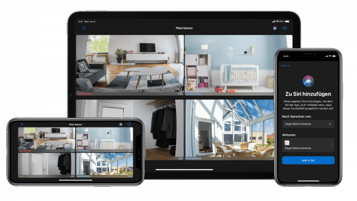 Neue Eve-App mit verbessertem Kamera-Interface