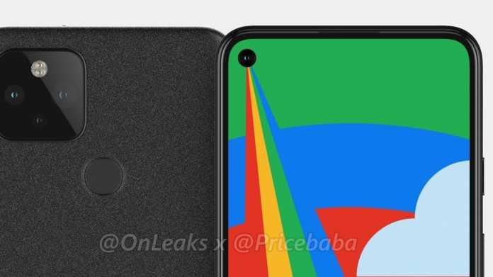 Google-Smartphone Pixel 5: Render-Leaks bestätigen Punchhole-Kamera