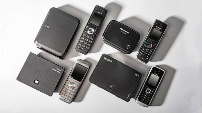DECT-VoIP-Telefone für den Heim- und Bürogebrauch bis 100 Euro