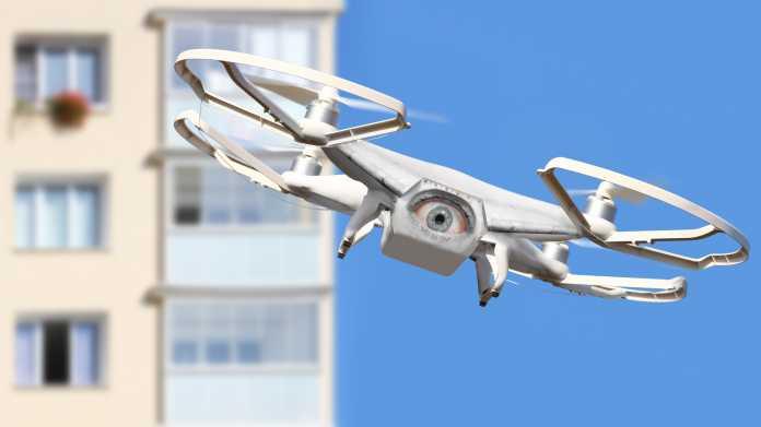 Gefängnisse testen Drohnenwarnsystem