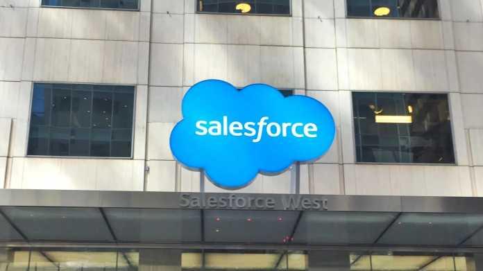 Salesforce fährt Rekordgewinn ein