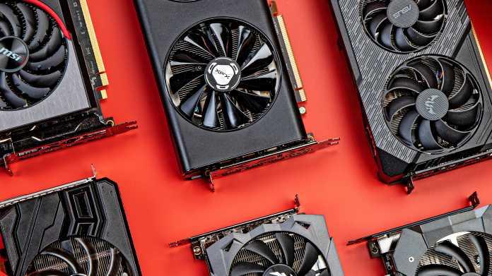 GPU-Marktanteile: Nvidias nimmt AMD großes Stück ab