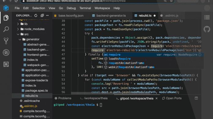Typefox stellt Gitpod-IDE unter Open-Source-Lizenz