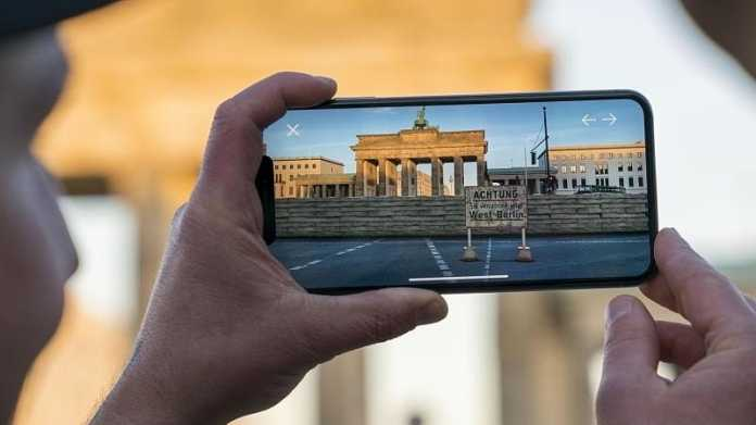 App l?sst Berliner Mauer in Augmented Reality erleben
