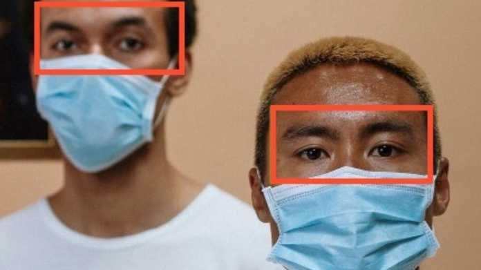 Gesichtserkennung: Auf Schutzmasken ausgerichtete Algorithmen versagen oft