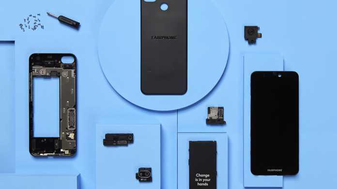 Fairphone 3: Neue Kamera-Module sollen Nutzungsdauer verlängern
