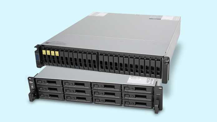 Zwei Midrange-NAS mit redundanten Controllern im Test