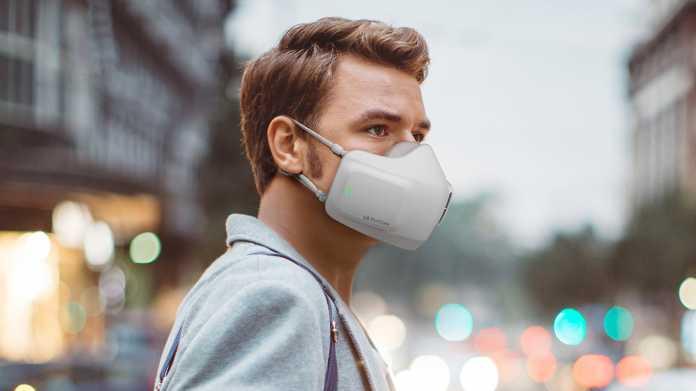 Puricare: LG zeigt Maske mit Luftreiniger