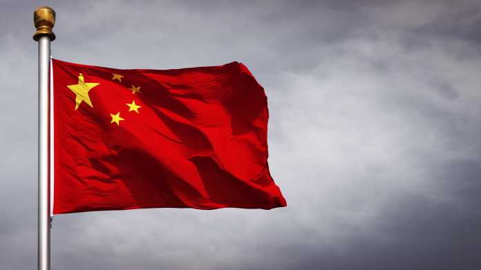 Flagge der Volksrepublik China