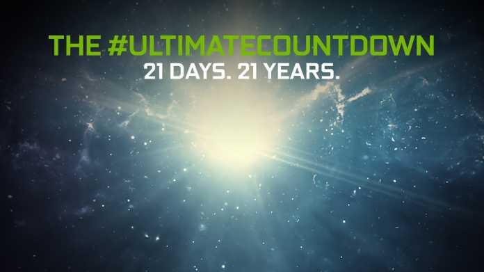 GeForce RTX 3000: Nvidia startet Countdown für Ende August