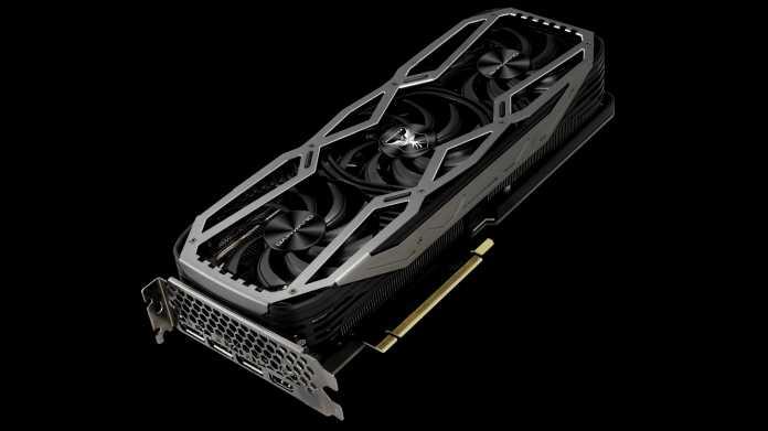 Spielergrafikkarten GeForce RTX 3090 und 3080: Gainward nennt Spezifikationen