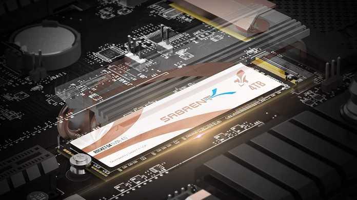 Sabrent Rocket Q4: Erste SSD mit PCI Express 4.0 und 4 TByte Speicherplatz