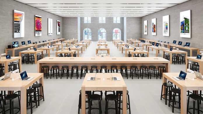 Apple-Läden: Corona stört das Einkaufserlebnis