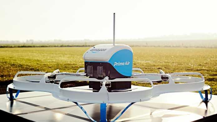 Prime Air: Amazon will in denUSA Waren per Drohne ausliefern