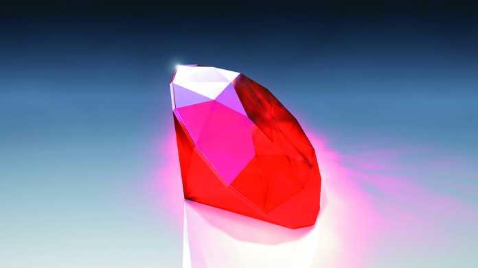 Programmiersprache: Ruby 3.0 erscheint noch 2020