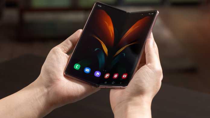Samsung Galaxy Z Fold 2: Klappe, die dritte