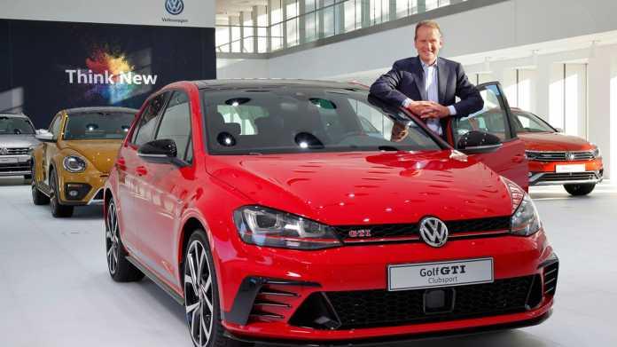 VW-Chef: Elektroauto setzt sich durch, trotz starker Verbrenner-Lobby