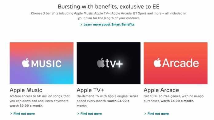Britischer Mobilfunker schnürt Paket mit Apple-Diensten