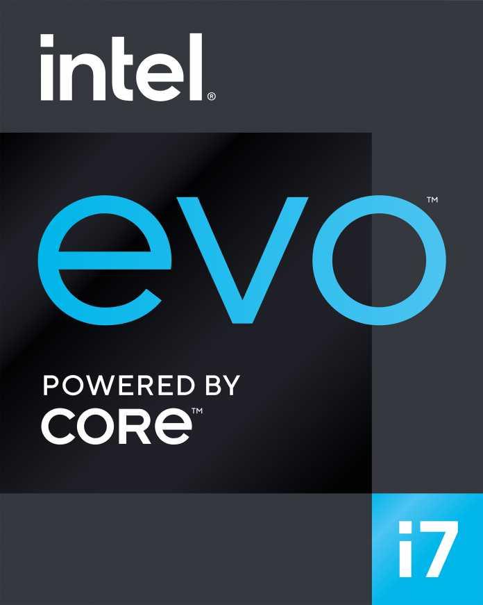 Intels Evo-Logo für Notebooks gemäß Project-Athena-2.0-Spezifikation