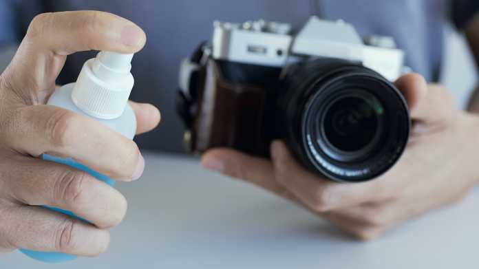 Kameras richtig desinfizieren