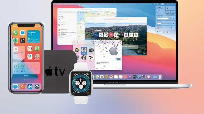 iOS 14, macOS 14, watchOS 7 und Co.: Wie die Systeme zusammenwachsen
