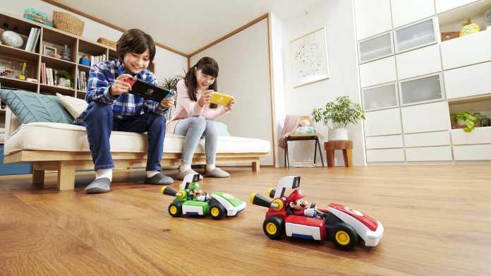 """""""Mario Kart Live"""": AR:Spiel für die Switch mit Spielzeugautos"""