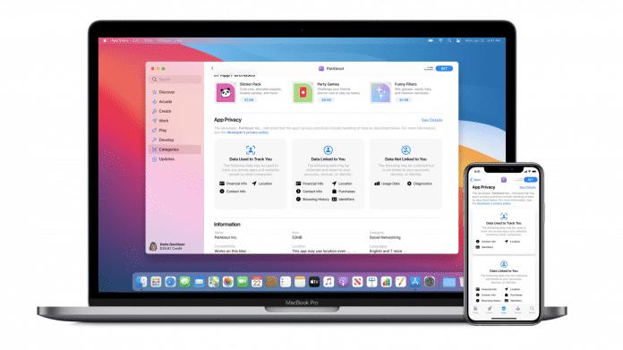 Apple: Entwickler müssen Datensammlung von Apps offenlegen
