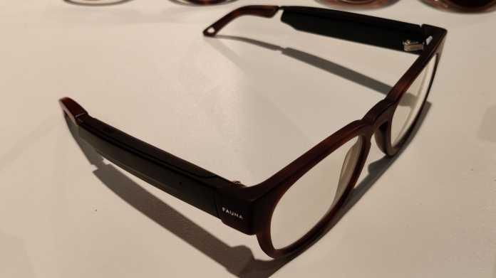 Schicke Audiobrille für komfortable Telefoncalls