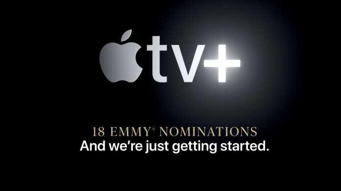 Werbung für TV+: Apple feiert eigene Emmy-Nominierungen
