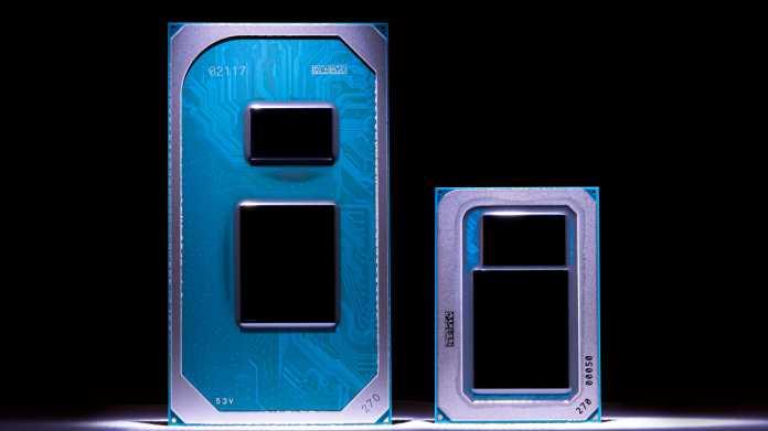 Intels elfte Core-i-Generation (Tiger Lake) startet