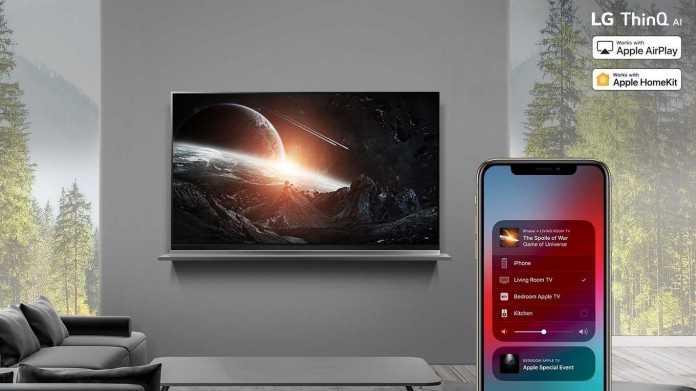 LG reicht AirPlay- und HomeKit-Support für ältere Fernseher nach