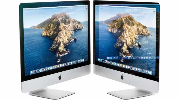 Apples 27-Zoll-iMac Modelljahr 2020