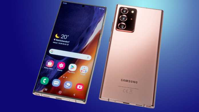 Stift-Smartphone Samsung Galaxy Note20 Ultra
