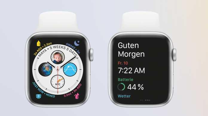 watchOS 7: Tolle neue Funktionen für Ziffernblätter und Gesundheit
