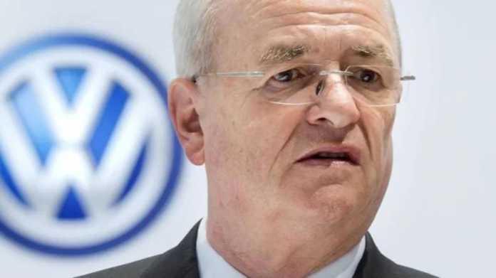 Anklage gegen Martin Winterkorn nach Abgasbetrug zugelassen