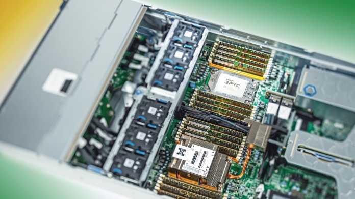 """AMD-Serverprozessor Epyc lässt sich mit Servern """"verdongeln"""""""