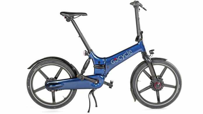 Luxus-E-Bike Gocycle GX zum Zusammenklappen
